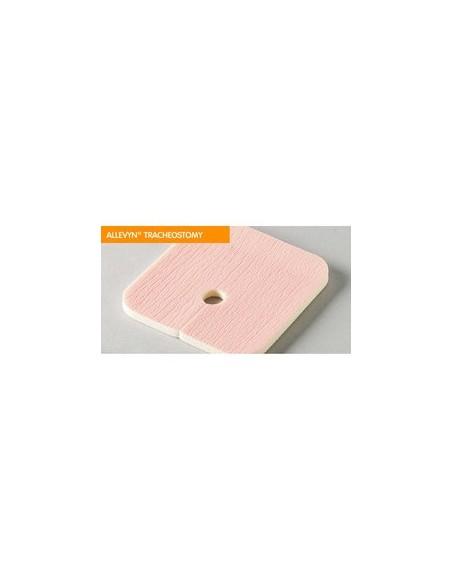 Allevyn Tracheostomy - Medicazione Idrocellulare Non Adesiva per Tracheostomia - 9 x 9 cm