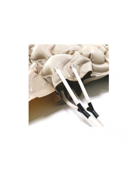 Kit materasso antidecubito a bolle d'aria doppio + compressore