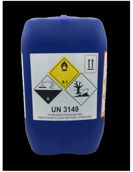 Five Super Sanitizzante - Disinfettante Acido - Fortemente Ossidante - Non Schiumogeno - 10 Kg