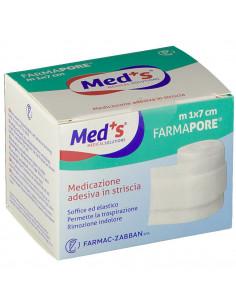 MED'S Medicazione Adesiva in Striscia 1m x 7cm