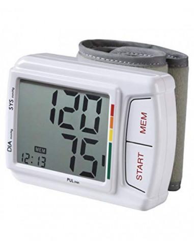 MED'S Misuratore di pressione da polso automatico digitale FZ 607 P