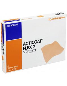 Acticoat Flex 7 Medicazione all'Argento Nanocristallino 5x5cm 1pz
