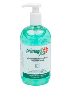 Primagel Plus gel disinfettante mani con dispenser dosatore 500ml