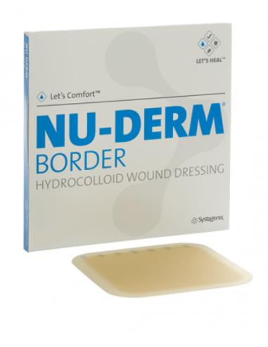 Nu-Derm Border Idrocolloidi 10x10 1pz