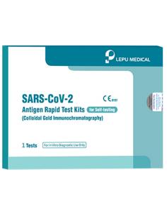 Test Antigenico Rapido Lepu per SARS-CoV-2  1 pezzo
