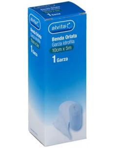 Benda Garza Orlata Alvita non sterile 5m x 10cm
